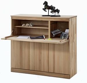 moderne schreibtische b cherregale kirsche nussbaum massiv iter. Black Bedroom Furniture Sets. Home Design Ideas