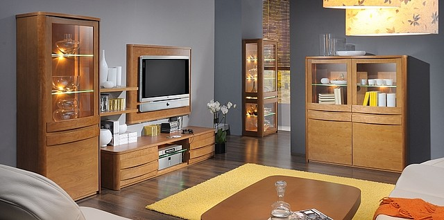 moderne designm bel kirsche und mussbaum iter. Black Bedroom Furniture Sets. Home Design Ideas