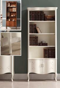 Bücherregal stilmöbel italienisch Kirsche