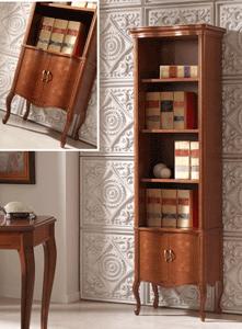 schmales Regal für Bücher Breite 55 cm