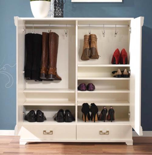 schuhschrank mit stiefelfach breite 110 cm massiv holz online kaufen. Black Bedroom Furniture Sets. Home Design Ideas