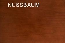 Nussbaum Echtholz furniert