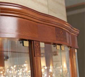 italienische Stil-Möbel | Napoli | Kirsche | Nussbaum